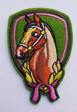 Horse Iron On Patch Horses Head Iron On Sew on Patch