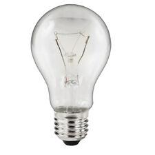 1, 5, 10 OSRAM Bulbs 75 Watt E 27 Clear Lamp For Oval Lamp Cellar Light