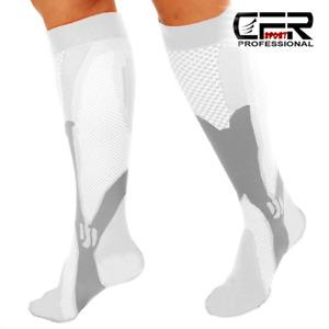 Compression Socks Men Women 20-30 mmHg Shin Splint Knee High Support Fatigue Leg