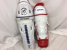 Bauer APX2 Warrior Koncept Hockey Shin Guards 15 Inch Mismatch NWT YGI IHH SH28