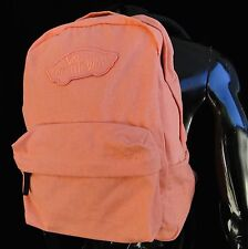Vans Skate Co. Realm Fusion Coral Color Mens Unisex Backpack School Bag