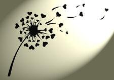 Dandelion Hearts Shabby Chic Mylar stencil Vintage  A4 297x210mm Wall furniture