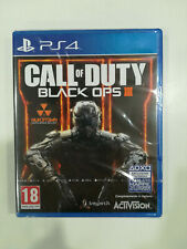 CALL OF DUTY BLACK OPS 3 III COD - PS4 PLAYSTATION 4 - NUOVO