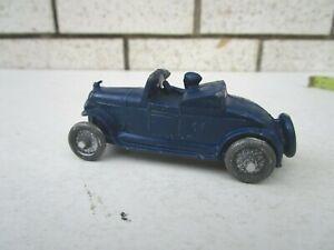 Vintage Barclay Chrysler #14 Convertible Slush Mold Toy Car
