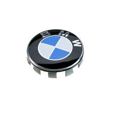 36136783536 cubierta del centro de Rueda De Aleación Original BMW Tapacubos Cromo 68mm