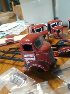 Diecast 1:24 LOT OF Danbury Mint GMC cabovers parts only