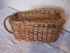 Panier en osier pour Bouteille  24 x 11 cm par 14 cm de haut