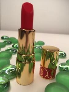 YVES SAINT LAURENT YSL Rouge Volupte Shine Lipstick 12 CORAIL DOLMAN .05oz Trav