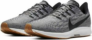 Nike Air Zoom Pegasus 36 Running Shoes Gray White Gum Black AQ2203-001 Men's NEW