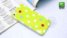 Kindtoy polka dots iphone 5 / 5s TPU Case Light Green