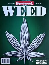 WEED NEWSWEEK MAGAZINE WHAT LEGAL POT MEANS TO YOU TOPIX MEDIA OCTOBER 2018 NEW