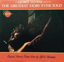 THE GREATEST STORY EVER TOLD - Original score by Alfred Newman MINT