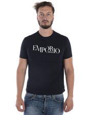 Emporio Armani T Shirt Sweatshirt Man Blue 6Z1TA61JPZZ 922 Sz.S MAKE OFFER