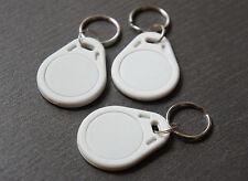 3x NFC Tag mit MIFARE Classic® Chip - Schlüsselanhänger weiß - keyfob white - 1k