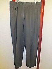 Men's Zanella of Italy Duncan BLACK Dress Slacks Pants Size 34 X 33