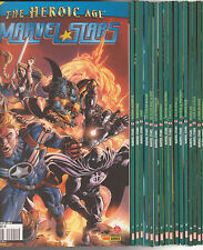 MARVEL STARS N° 1 à 17 Marvel France Panini comics serie complete