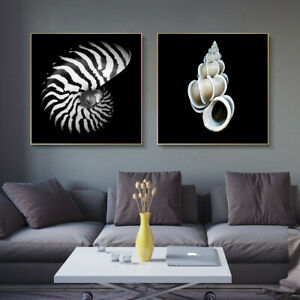 Sea Shell Canvas Painting Poster Prints Wall Art Pictures Modern Home Room Decor