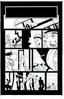 Decoy Menagerie GN Page 9 Original Art - Sean Galloway & James Taylor