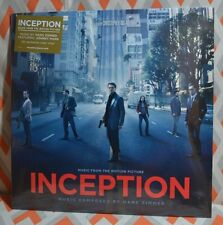 INCEPTION - Soundtrack O.S.T Limited 140 Gram CLEAR VINYL New & Sealed!