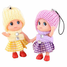 5Pcs Kids Toys Soft Interactive Baby Dolls Toy Mini Doll For Girls Cute Gift js