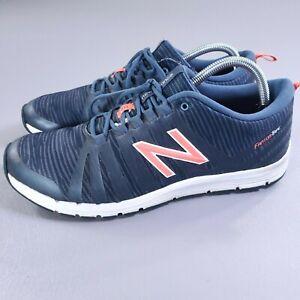 New Balance Fantom Tape Cush Running Shoes Womens Sz 11 Blue Athletic Sneakers