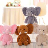 EB_ Mini Lovely Elephant Stuffed Animals Kids Baby Soft Plush Toy Gift Doll Conv