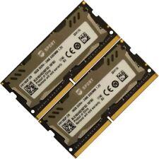 Ballistix Sport Memory Ram 32GB 2x16GB DDR4 PC4 19200 Laptop  BLS16G4S240FSD