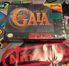 Illusion of Gaia Snes Super Nintendo, Complete! Tested And Working! Take A Look!