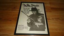 MILES DAVIS you're under arrest-1985 framed original poster sized advert