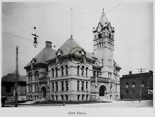 """ST.THOMAS Ontario CANADA """"City Hall"""" in 1906 Reprint on Pro Glossy Paper"""