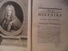 Histoire ou éloge historique du Chancelier d'Aguesseau
