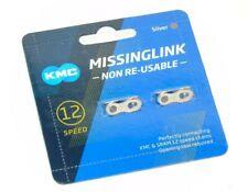 2 Genuine KMC Missing Links 12 Speed Non Reusable, Sram,KMC, CL-552, Brand New
