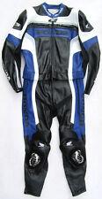 Neu! HONDA Suzuka Gr. 50 Zweiteiler Lederkombi schwarz blau Leather Suit