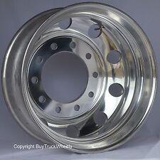 Alcoa DuraBright Evo 22.5 10Lug Hub Pilot Rear Wheel Round Hole Design 883672DB