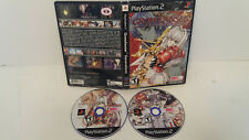 Growlanser Generations (Sony PlayStation 2 PS2, 2004) Working Designs RPG Teen.