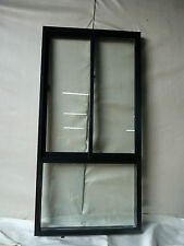 1 OFF ALUMINIUM SLIDE+FIXED WINDOWS 900 WIDE X 1800 HIGH  DOUBLE GLAZED