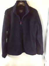 Blue Harbour Regular Fit Navy Jumper Size: Medium