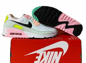 Nike Air Max 90 Easter Pastel White Green Pink CZ1617-100 Women's Sz 11.5 No lid
