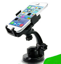 Car mount cell phone GPS holder iPhone Samsung cellphone Note windshield cradle