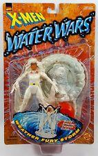 "1997 TOYBIZ MARVEL X-MEN WATER WARS FURY STORM 5"" ACTION FIGURE MOC MUTANT"