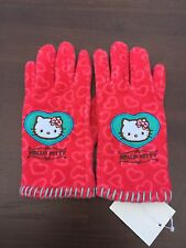 Nwt Hello Kitty Red Hand gloves girl License Sanrio Small Size ~Cute~for kid