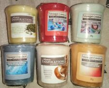 *NEW* YANKEE CANDLE Votive Bundle, 6 Assorted Candles, No Duplicate Scents!
