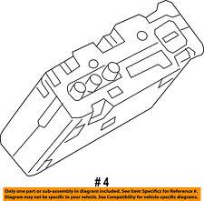 FORD OEM Stereo Audio Radio-Control Module BT4Z19A387B