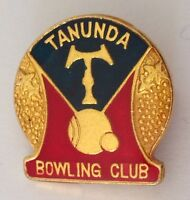 Tanunda Bowling Club Badge Pin Quality Lawn Bowls (K1)