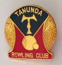Tanunda Bowling Club Badge Pin Quality Lawn Bowls (K1)
