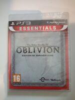 the elder scrolls IV oblivion édition 5e anniversaire ps3 ps playstation 3 neuf