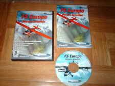FS EUROPE...décors détaillés...add pour flight simulator 2004 et 2002...sur PC