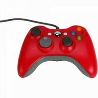 red Xbox 360 Controller USB Wired Game Pad For Microsoft Xbox 360 UK FAST POST