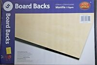 Board Backed Manilla Envelopes 324 X 229 A4 115 Gsm Pack Of 5 Post Office Brand