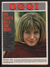 OGGI 5/1963 SPAAK CAPUCCI ALAIN DELON BARDOT SAMI FREY VIDAL QUADRAS UNER KAUSKE